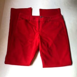 Express Editor Pant in Red